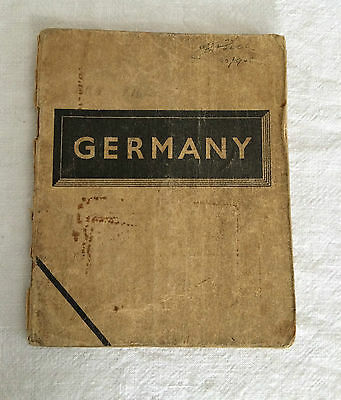 Original WWII booklet Germany November 1944 Civilian life United Nations Forces