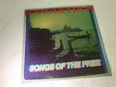 Gang of Four - Songs Of The Free - Vinyl LP, UK, EMI EMC 3412, 1st Press, VG/EX-