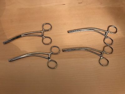 Set of 4 Sklar Mastin Muscle Clamps, 17cm