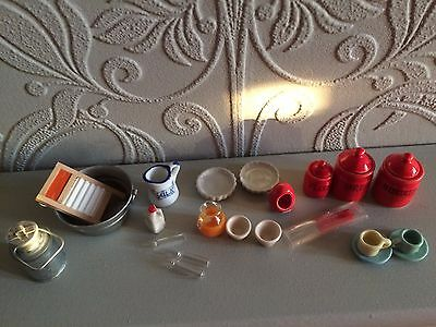 12th scale  job lot mixed  items( CCC) dolls house mixed items reduced