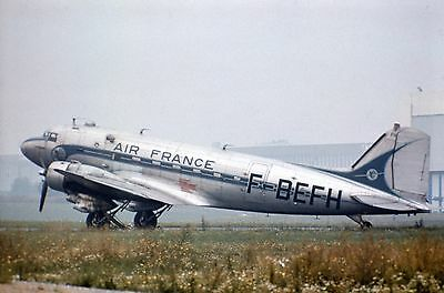 Original Slide, Air France DC-3, Orly 8/70