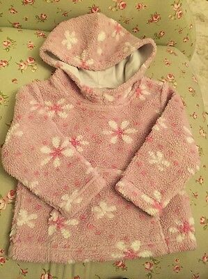 Next Hooded Fleece Aged 2-3