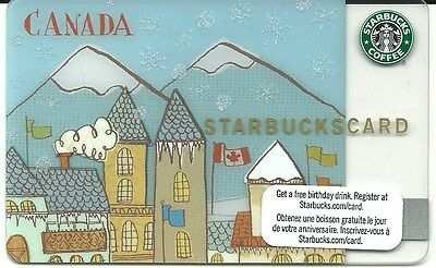 Starbucks Card 2009  Canada Olympics with Matching Sleeve