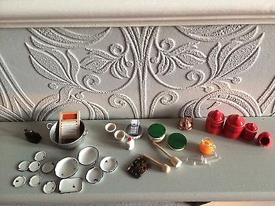 12th scale  job lot mixed  items(BBB) dolls house mixed items reduced