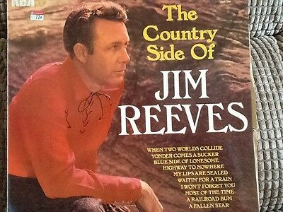 The country side of Jim Reeves. LP