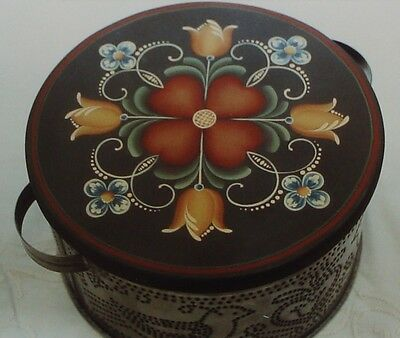 """Helen Jeglic Rare tole painting pattern """"Penn Dutch in the Round"""""""