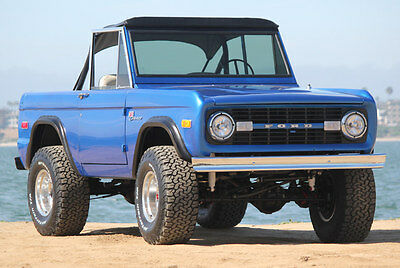 1972 Ford Bronco Sport 1972 Ford Bronco Sport 302 V8 with 3 Speed on 33's LCD Screen and Radio