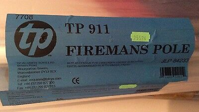 Tp 911 Firemans Pole For Use With Challenger Climbing Frame