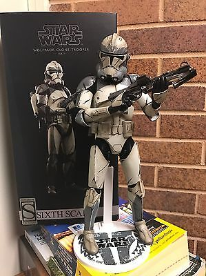 Sideshow Exclusive Hot Toys Star Wars Clone Wars Wolfpack Trooper Exclusive!