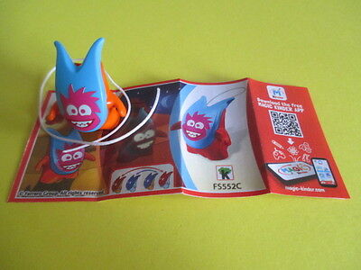 Kinder Ferrero FS552C Crazy Friends + BPZ - with mobile phone on it's BPZ!