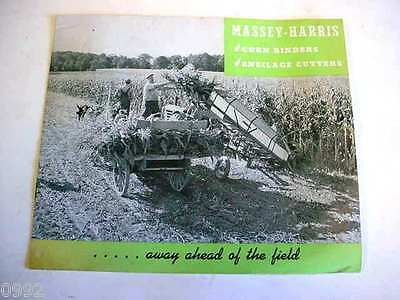 Massey Harris Corn Binders & Ensilage Cutters from the 1940's                  6