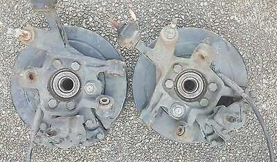 Nissan r33 rear brakes & HUB assembly with handbrake cables