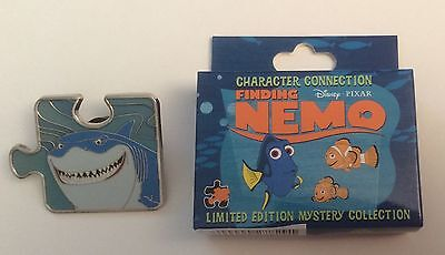 Finding Nemo Puzzle Mystery Pin LE 900 BRUCE Great White Shark Disney Pixar