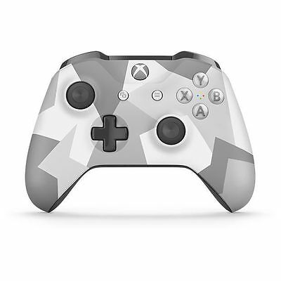 NEW Xbox One S Wireless Controller - Winter Forces