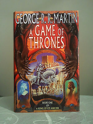 A Game of Thrones by George R.R. Martin. Hardback (1996) First. Voyager 1st/1st