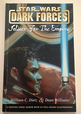 Star Wars Dark Forces Soldier For The Empire Graphic Novel PB Kyle Katarn OOP