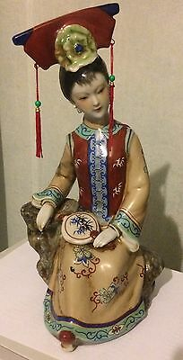 Early 20th Century Chinese Porcelain Doll - C1930s