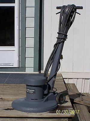 Advance Sd 5120 Low Speed Scrubber Sander Polisher Floor Buffer 1 1/2 H.p.