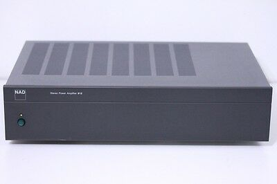 NAD Stereo Power Amplifier 912 2 Channel Power Amp