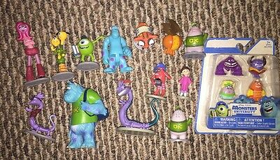 Disney Pixar MONSTERS, INC Lot of 14 Scully, Mike, Boo, Randall..... Plus 4 NIB