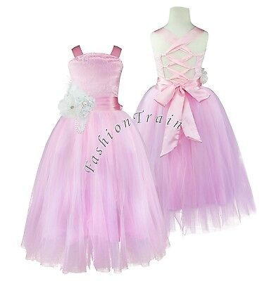Flower Girl Communion Confirmation Bridesmaid Party Pageant Wedding Dress Size 8