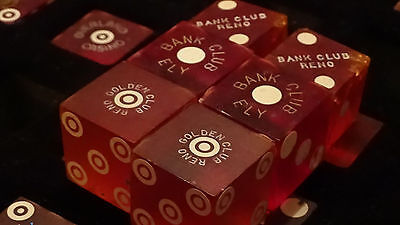 RARE 3 SETS1940S-50S ( BANK CLUB, GODEN CLUB SOME 5/8 SIZE ) Pair Casino Dice