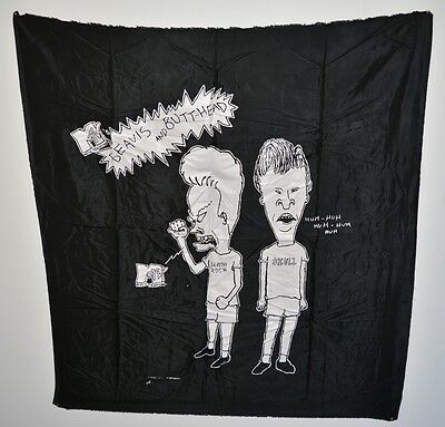RARE!! Beavis and Butthead 1993 Tapestry