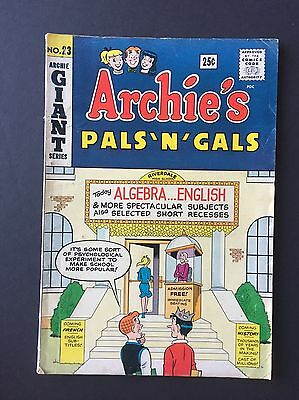 Archie's Pals 'n' Gals #23 First Appearance Of Josie!