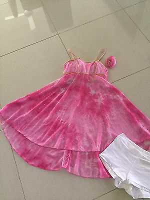 Girls Contemporary Ballet Costume Size 12-14
