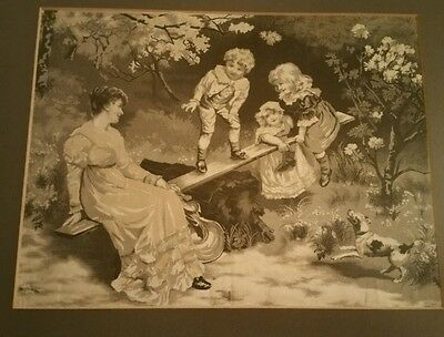 French silk tapestry dates back to 1918 maybe older