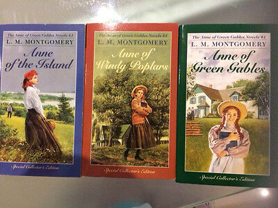 Anne of Green Gables Books x 3