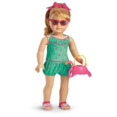 American Girl Maryellen's Flamingo Swim Outfit - Excludes Doll - New in Box