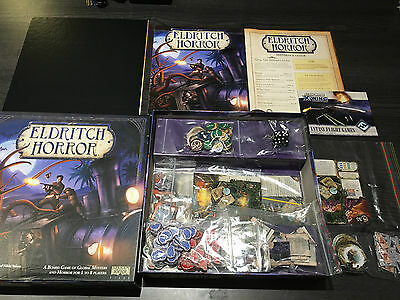 Eldritch Horror (Full board game, original packaging, great condition)