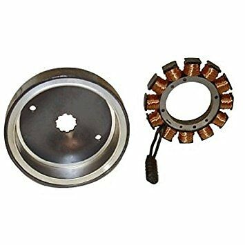 Harley Stator & Rotor Kit. All Dyna 2004-2005. 38 Amp With Flywheel