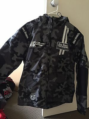 Jack Daniel's Racing Jacket Rain Coat Kelly