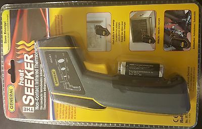 General Tools Infrared Thermometer IRT207 The Heat Seeker 8:1 Optical Resolution