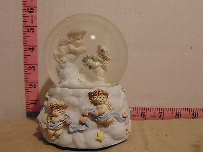Dreamsicles Water Snow Globe Music Box Plays Let Me Call You Sweet Heart