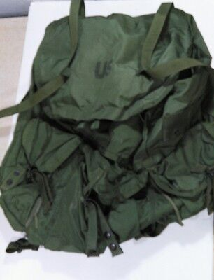 US Army OD Large ALICE LC-1, Combat Field Pack     pack only no frame or straps