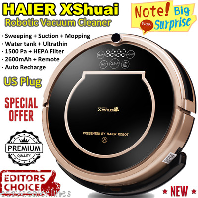 HAIER XShuai Smart Cleaning Robot Floor Dust Cleaner Automatic Sweeping Machine