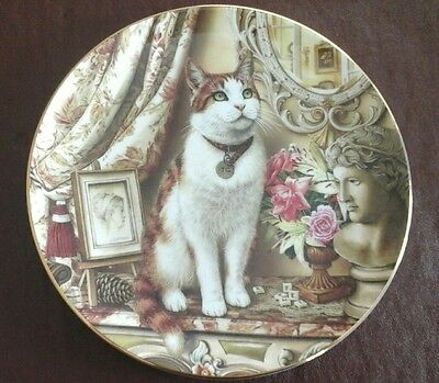Royal Doulton 'The Drawing Room Cat' plate