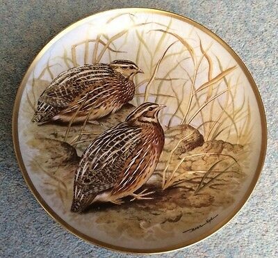"""BASIL EDE- GAME BIRDS OF THE WORLD - Common Quail - 9"""" - France"""