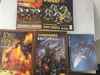 The Lord of the Rings - Shadow & Flame - Warhammer Bretonnia - White Dwarf -
