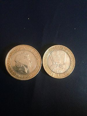 £2 Coin - Olympic Handover Beijing to London - 2008