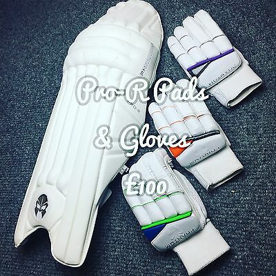 Phantom Bundle PRO-R Batting Pads + Gloves