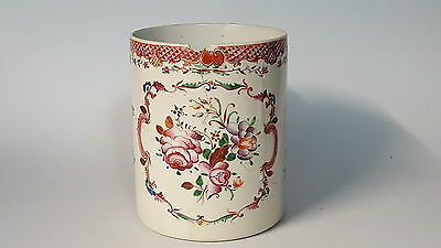 Qianlong Chinese export vintage pre Victorian oriental antique tankard mug