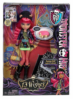 Monster High 13 Wishes Howleen Wolf - Brand New in Box!