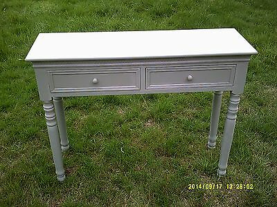 hall table french grey shabby chic london