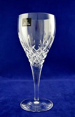 """Royal Doulton """"DORCHESTER"""" Wine Glass - 19cms (7-1/2"""") Tall"""