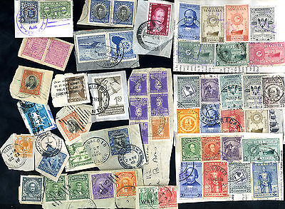 Assorted Stamps/Postmarks - Central & South America