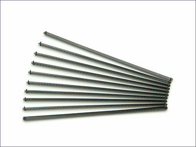 Pack of 10 Junior Hacksaw Replacement Blades  6'' inch 150mm
